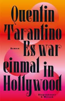 Quentin Tarantino: Es war einmal in Hollywood, Buch