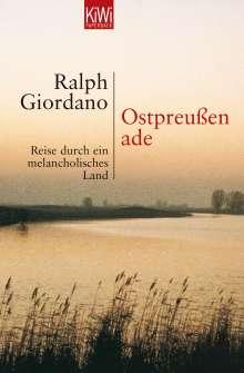 Ralph Giordano: Ostpreußen ade, Buch