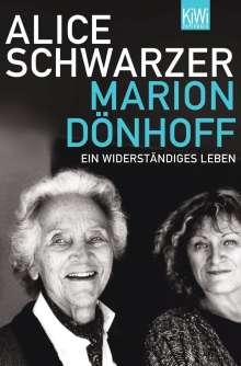 Alice Schwarzer: Marion Dönhoff, Buch