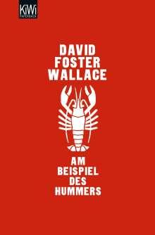 David Foster Wallace: Am Beispiel des Hummers, Buch
