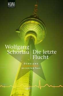 Wolfgang Schorlau: Die letzte Flucht, Buch