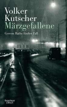 Volker Kutscher: Märzgefallene, Buch