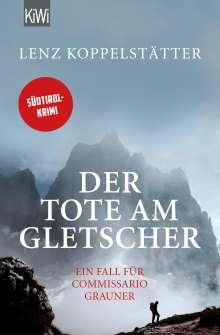 Lenz Koppelstätter: Der Tote am Gletscher, Buch