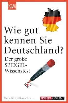 Markus Verbeet: Wie gut kennen Sie Deutschland?, Buch