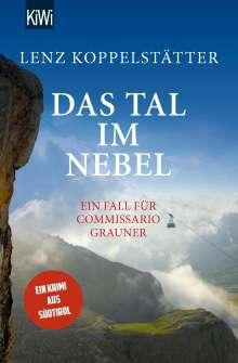 Lenz Koppelstätter: Das Tal im Nebel, Buch
