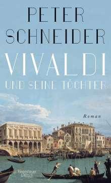 Peter Schneider: Vivaldi und seine Töchter, Buch