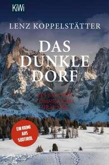 Lenz Koppelstätter: Das dunkle Dorf, Buch
