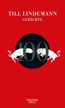 Till Lindemann: 100 Gedichte, Buch