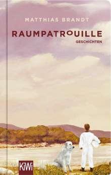 Matthias Brandt: Raumpatrouille, Buch