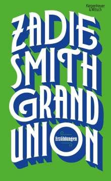 Zadie Smith: Grand Union, Buch
