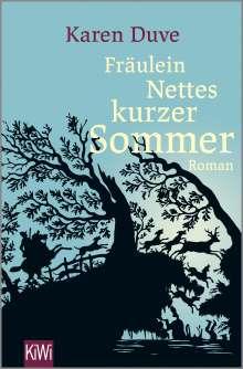 Karen Duve: Fräulein Nettes kurzer Sommer, Buch
