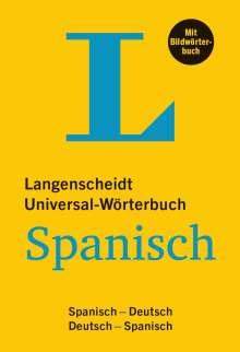 Langenscheidt Universal-Wörterbuch Spanisch - mit Bildwörterbuch, Buch