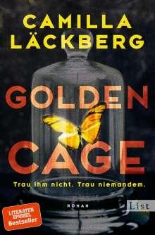 Camilla Läckberg: Golden Cage. Trau ihm nicht. Trau niemandem., Buch