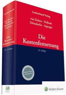 Ingeborg Asperger: Die Kostenfestsetzung, Buch