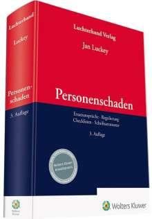 Jan Luckey: Personenschaden, Buch