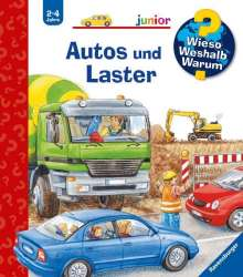 Andrea Erne: Autos und Laster, Buch