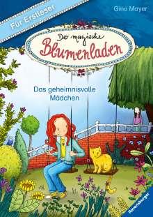 Gina Mayer: Der magische Blumenladen für Erstleser, Band 2: Das geheimnisvolle Mädchen, Buch