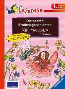 Katja Reider: Die besten Erstlesegeschichten für Mädchen 1. Klasse mit toller Zaubertafel, Buch