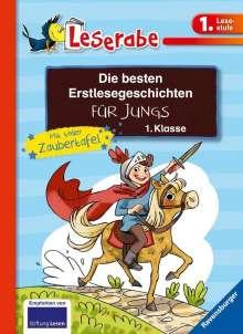 Henriette Wich: Die besten Erstlesegeschichten für Jungs 1. Klasse mit toller Zaubertafel, Buch