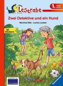 Manfred Mai: Zwei Detektive und ein Hund, Buch