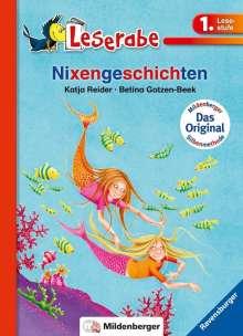 Katja Reider: Leserabe mit Mildenberger. Nixengeschichten, Buch