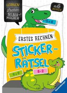 Kirstin Jebautzke: Erstes Rechnen Sticker-Rätsel, Buch