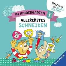 Kirstin Jebautzke: Im Kindergarten: Allererstes Schneiden, Buch