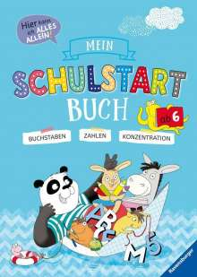 Kirstin Jebautzke: Mein Schulstart-Buch, Buch