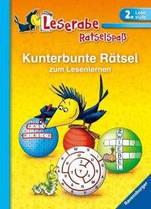 Lena Merk: Kunterbunte Rätsel zum Lesenlernen (2. Lesestufe), Buch
