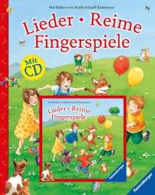 Lieder, Reime, Fingerspiele (mit CD), Buch