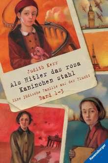 Judith Kerr: Als Hitler das rosa Kaninchen stahl, Band 1-3, Buch