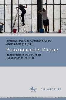 Funktionen der Künste, Buch