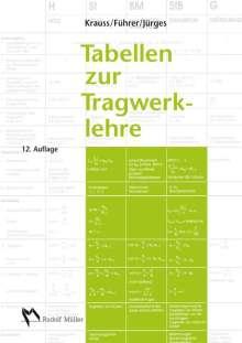 Franz Krauss: Tabellen zur Tragwerklehre, Buch
