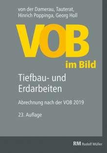 Hinrich Poppinga: VOB im Bild - Tiefbau- und Erdarbeiten, Buch