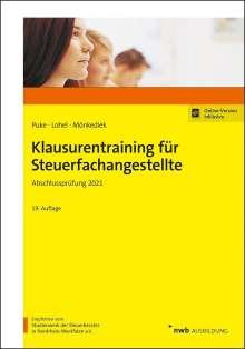Michael Puke: Klausurentraining für Steuerfachangestellte, 1 Buch und 1 Diverse