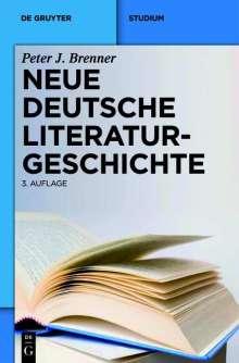 Peter J. Brenner: Neue deutsche Literaturgeschichte, Buch