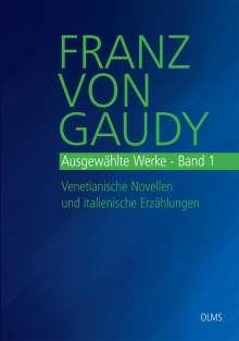 Franz von Gaudy: Ausgewählte Werke, Buch