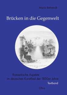 Maria Behrendt: Brücken in die Gegenwelt, Buch