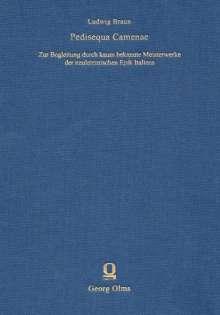 Ludwig Braun: Pedisequa Camenae, Buch