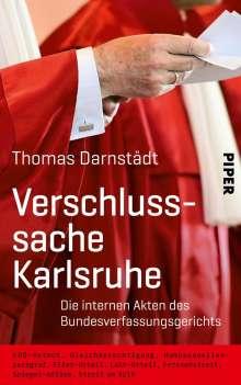 Thomas Darnstädt: Verschlusssache Karlsruhe, Buch