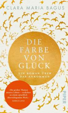 Clara Maria Bagus: Die Farbe von Glück, Buch
