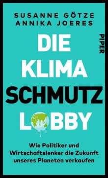 Susanne Götze: Die Klimaschmutzlobby, Buch
