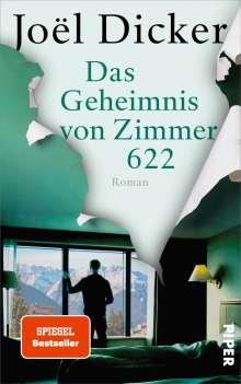 Joël Dicker: Das Geheimnis von Zimmer 622, Buch