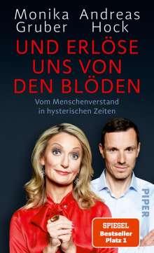 Monika Gruber: Und erlöse uns von den Blöden, Buch