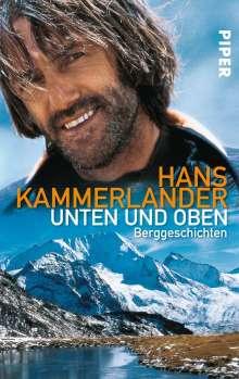 Hans Kammerlander: Unten und oben, Buch