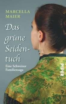 Marcella Maier: Das grüne Seidentuch, Buch