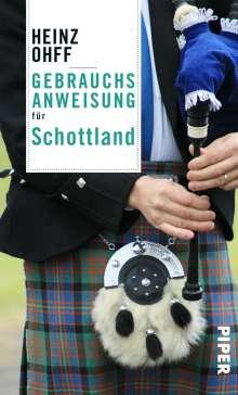 Heinz Ohff: Gebrauchsanweisung für Schottland, Buch