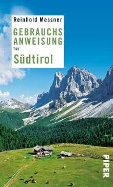 Reinhold Messner: Gebrauchsanweisung für Südtirol, Buch