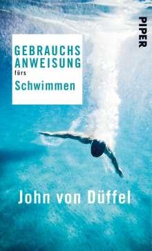 John von Düffel: Gebrauchsanweisung fürs Schwimmen, Buch