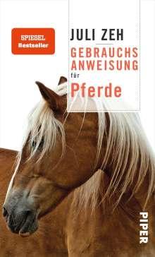 Juli Zeh: Gebrauchsanweisung für Pferde, Buch